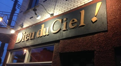 Photo of Nightlife Spot Dieu du Ciel! at 29 Ave. Laurier Ouest, Montréal, QC H2T 2N2, Canada