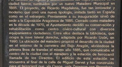 Photo of Library Biblioteca Municipal Ricardo Magdalena at C/ Miguel Servet, 57, Zaragoza 50002, Spain