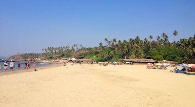Photo of Beach Little Vagator Beach at Vagator, Goa, India