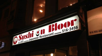 Photo of Sushi Restaurant Sushi On Bloor at 515 Bloor St W, Toronto, ON M5S 1Y4, Canada