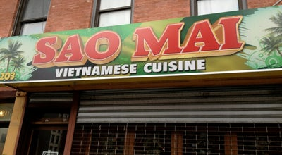 Photo of Asian Restaurant Sao Mai Vietnamese Cuisine at 203 1st Ave, New York, NY 10003, United States