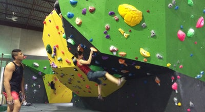 Photo of Rock Climbing Spot Hub Climbing at 165 Mcintosh Drive, Markham, ON, On L3R 0N6, Canada