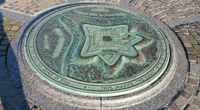 Photo of Historic Site Site Of Fort Duquesne 1754-1758 at Pittsburgh, PA, United States