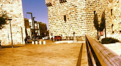 Photo of Historic Site Jaffa Gate (שער יפו) at Jerusalem, Israel