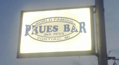 Photo of Bar Prues Bar at 734 W Huron St, Pontiac, MI 48341, United States