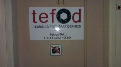 Photo of Art Gallery TEFOD Fotograf Dernegi at Kolordu Cd, Tekirdağ 59000, Turkey