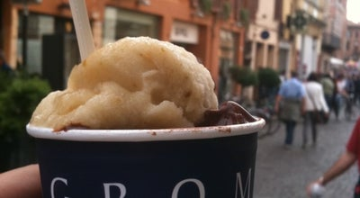 Photo of Ice Cream Shop Grom at Piazza Trento E Trieste, 58, Ferrara 44100, Italy