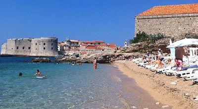 Photo of Beach East West Beach Club Dubrovnik at Croatia