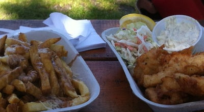 Photo of Fish and Chips Shop Jiggers Fish & Chips at 1801 Bay St, Ucluelet, BC V0R 3A0, Canada