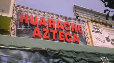 Photo of Latin American Restaurant El Huarache Azteca at 5225 York Blvd, Los Angeles, CA 90042, United States