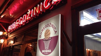 Photo of Eastern European Restaurant Buregdžinica Bosna at Sarajevo, Bosnia and Herzegovina