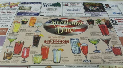 Photo of Diner Americana Diner at 420 Route 211 E, Middletown, NY 10940, United States