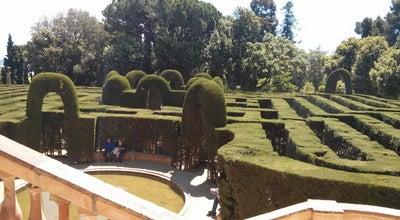 Photo of Garden Parc del Laberint d'Horta at Pg. Castanyers, 1, Barcelona 08035, Spain