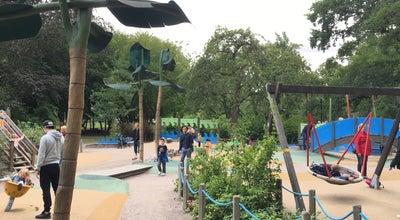 Photo of Playground Stadsträdgårdens Lekplats at Stadsträdgården, Uppsala 753 10, Sweden