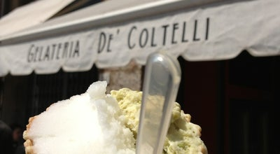 Photo of Ice Cream Shop Gelateria De' Coltelli at Lungarno Pacinotti 23, Pisa, Italy