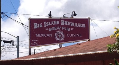 Photo of Brewery Big Island Brewhaus at 64-1066 Mamalahoa Highway, Waimea, HI 96743, United States