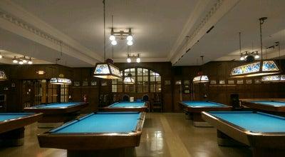 Photo of Pool Hall Michigan Union Billiards Room at 530 S State St, Ann Arbor, MI 48109, United States