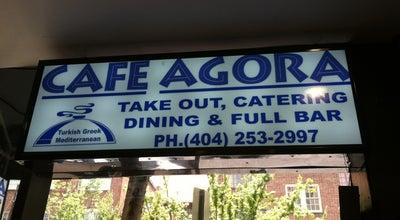 Photo of Mediterranean Restaurant Cafe Agora at 92 Peachtree Place Ne, Atlanta, GA 30309, United States