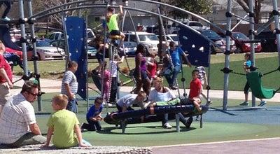 Photo of Park River Parks-41st Street Plaza at 4100 S Riverside Dr, Tulsa, OK, OK 74105, United States