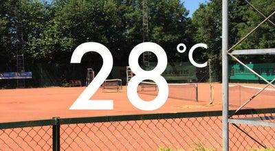 Photo of Tennis Court Tenza at Quinkenstraat, Zaventem 1930, Belgium