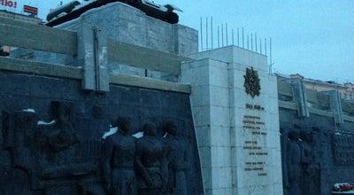 Photo of Monument / Landmark Танк at Russia