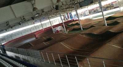 Photo of Racetrack Центр по велоспорту BMX at Строительная Ул., 13а, Саранск, Russia