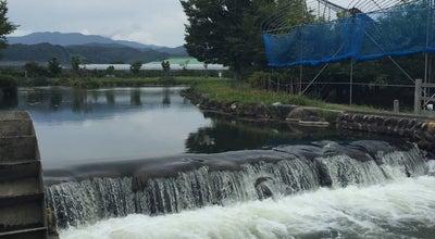 Photo of Lake 二ノ堰親水公園 at 樋の口, 寒河江市, Japan