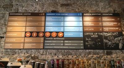 Photo of Coffee Shop Caffeine at Mündi 3, Tallinn, Estonia