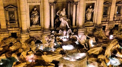 Photo of Plaza Piazza di Trevi at Piazza Di Trevi, Roma 00187, Italy