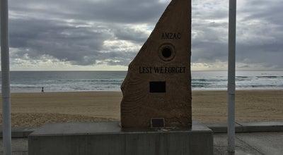 Photo of Monument / Landmark Surfers Paradise War Memorial at The Esplanade, Surfers Paradise, QL 4217, Australia