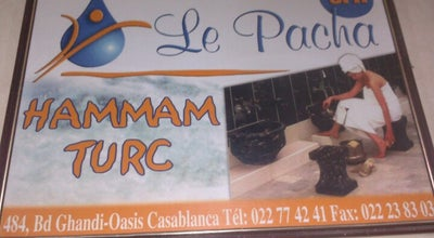 Photo of Spa Hammam Le Pacha at 484, Bd Ghandi (station Tramway Bachkou), Casablanca-Anfa, Morocco