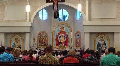 Photo of Church Saint Katharine Drexel Catholic Church at 2501 S Post Rd, Weston, FL 33327, United States