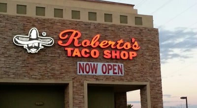 Photo of Mexican Restaurant Roberto's Taco Shop at 193 N Gibson Rd, Henderson, NV 89015, United States