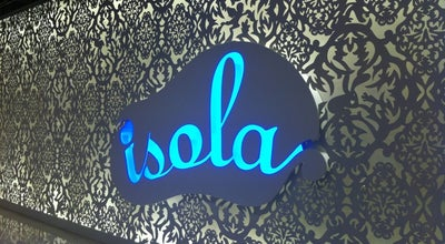 Photo of Italian Restaurant Isola Bar & Grill at Shop 3071-3075, 3/f, Ifc Mall, 8 Finance St, Central, Hong Kong