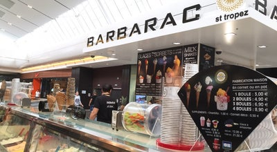 Photo of Ice Cream Shop Barbarac at Les Terrasses Du Port, Marseille 13003, France
