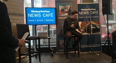 Photo of Cafe Winnipeg Free Press News Café at 237 Mcdermot Ave., Winnipeg, MB R3B 0S4, Canada