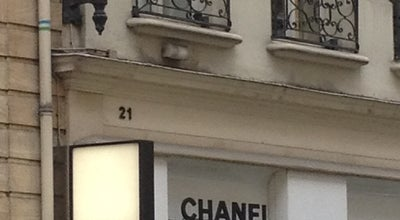 Photo of Clothing Store Chanel at 25 Rue Royale, Paris 75008, France