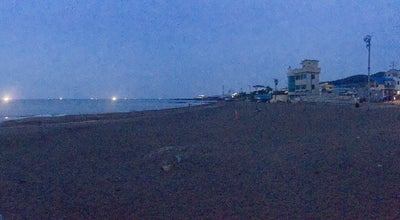 Photo of Beach Black Sandy Beach of Samyang (Samyang Beach) at Jeju Special Self-governing Province Jeju-si Samya, Jeju-si, South Korea