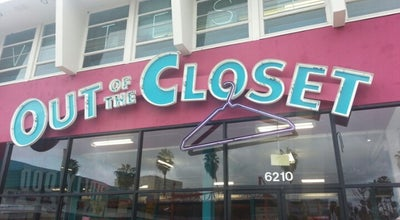 Photo of Thrift / Vintage Store Out of the Closet at 6210 W Sunset Blvd, Los Angeles, CA 90028, United States