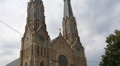 Photo of Church St. Mary's Cathedral at 607 Ne Madison Ave, Peoria, IL 61603, United States
