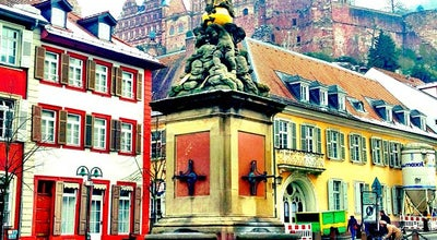 Photo of Plaza Kornmarkt at Heidelberg, Germany