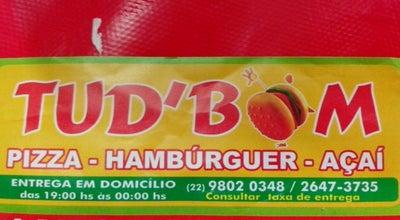 Photo of Burger Joint Tudo D'Bom at Rua Do Moinho, Cábo Frio, Brazil