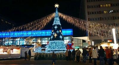 Photo of General Entertainment Weihnachtsmarkt Prager Straße at Dresden, Germany