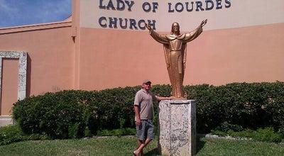 Photo of Church Our Lady Of Lourdes at 201 University Blvd, Daytona Beach, FL 32118, United States
