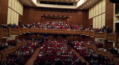Photo of Concert Hall Ahmed Adnan Saygun Sanat Merkezi at Mithatpaşa Cad. 1087 Güzelyalı, İzmir, Turkey