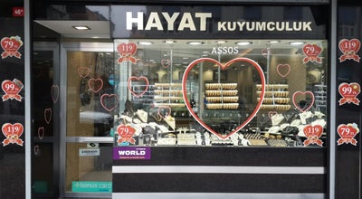 Photo of Jewelry Store HAYAT Kuyumculuk /Mücevherat at 1.cebeci Cad. No:46/a Sultangazi, İstanbul, Turkey