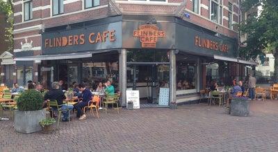Photo of Cafe Flinders Café at Kerkbrink 2, Hilversum 1211 BX, Netherlands