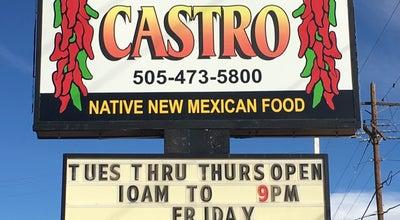 Photo of Mexican Restaurant Cafe Castro at 2811 Cerrillos Rd, Santa Fe, NM 87507, United States