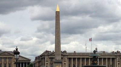 Photo of Monument / Landmark Obélisque de Louxor at Place De La Concorde, Paris 75008, France