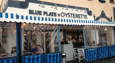 Photo of Seafood Restaurant Blue Plate Oysterette at 1355 Ocean Ave, Santa Monica, CA 90401, United States